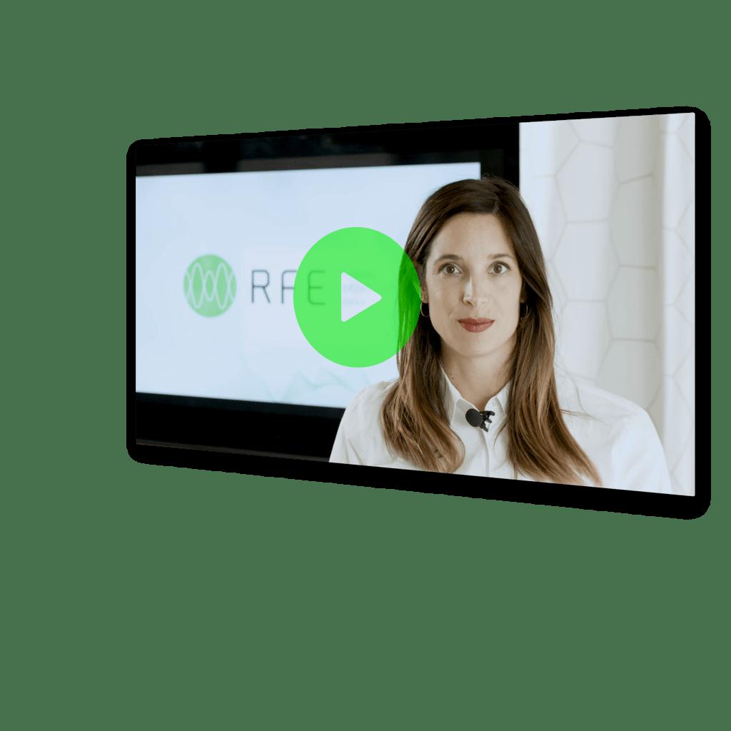 RFE's new brand identity on video